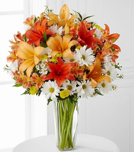 Photo of flowers: Sunrise Sentiments Bouquet