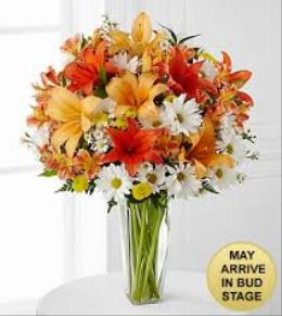 Photo of Sunrise Sentiments Bouquet - FK490