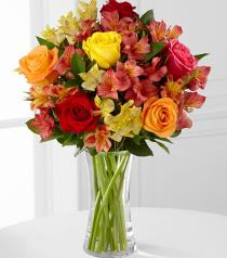 Photo of Gratitude Blooms Mixed in Vase - FK506