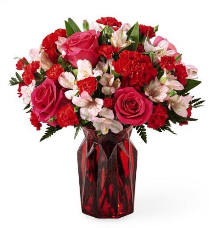 Photo of BF2097/17-V3d (Approx. 15 Stems - Vase Included)