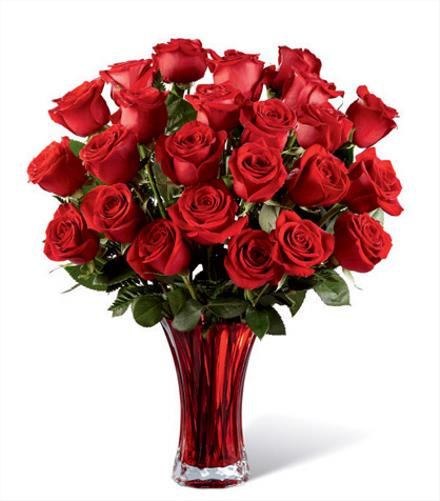 Photo of flowers: In Love with Red Roses Bouquet