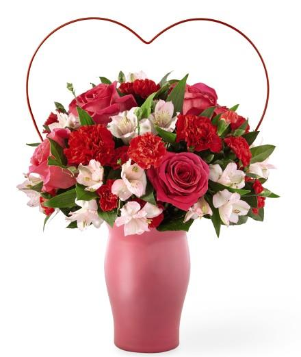 Photo of BF2100/18-V5d (18 Roses - Vase Included)