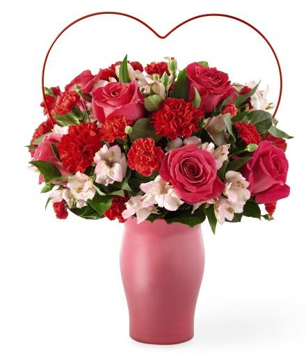 Photo of flowers: Sweet & Swooning Bouquet
