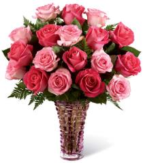 Photo of Royal Treatment Roses in Vase 16M3R - 16-M3R