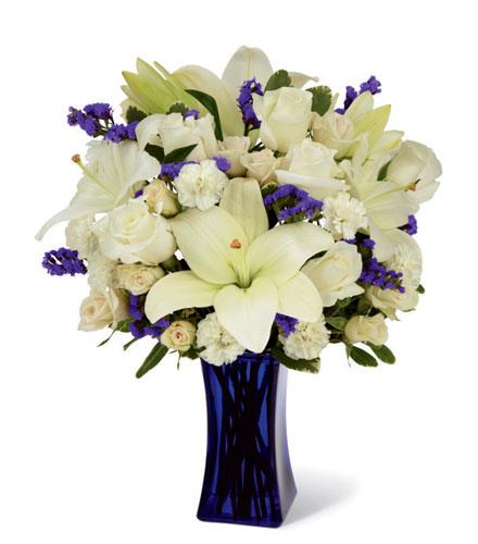 Photo of flowers: Beyond Blue Bouquet in Vase