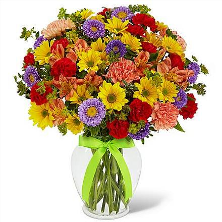 Photo of flowers: Light & Lovely in Vase