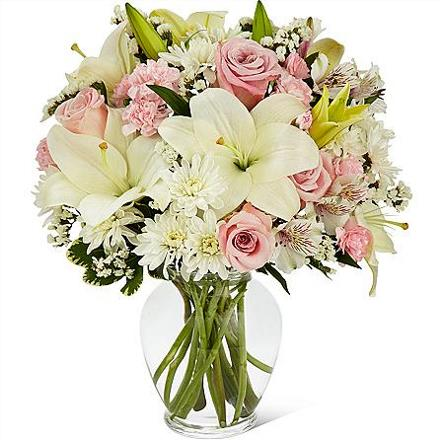 Photo of flowers: Pink Dream Bouquet in Vase