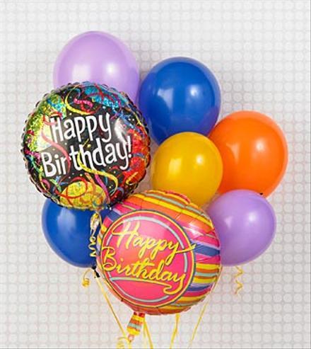 Photo of flowers: Balloons Happy Birthday!