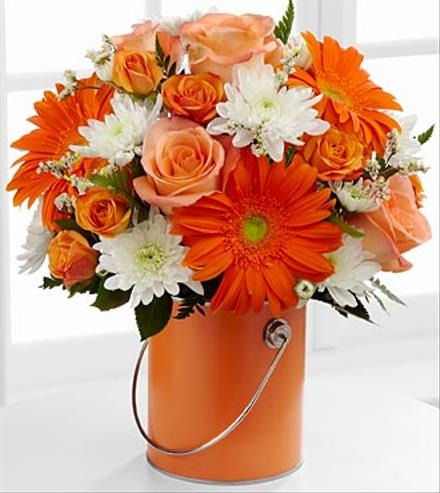 Photo of flowers: Color Your Day Orange