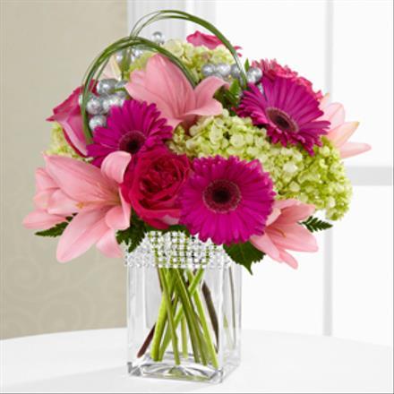 Photo of flowers: The FTD Blooming Bliss Bouquet