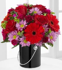 Photo of The FTD Color Your Day with Intrigue Bouquet - PCK