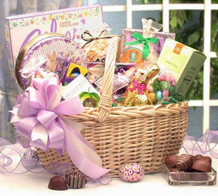 Photo of flowers: Easter Gift Basket