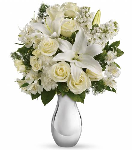 Photo of flowers: Shimmering White Bouquet