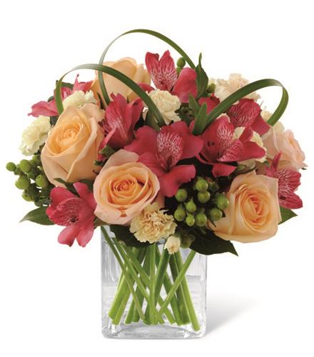 Photo of BF2176/C15-4950d (Approx. 12 - 14 Stems - vase included)