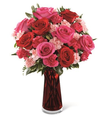 Photo of BF2178/C15B-4973d (13 Stems - VASE INCLUDED)