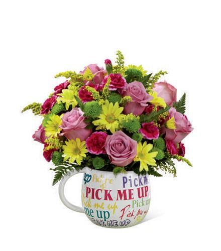 Photo of flowers: Pick-Me-Up Mug