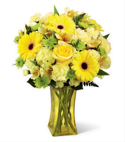 Photo of flowers: Lemon Groove Bouquet