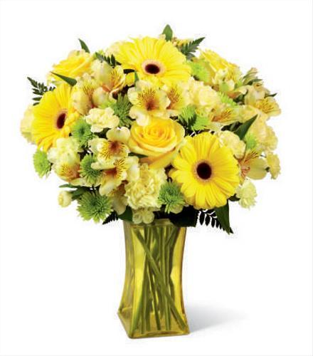 Photo of flowers: Lemon Groove Bouquet