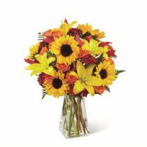 Photo of Harvest Heartstrings Bouquet  - B2-4957