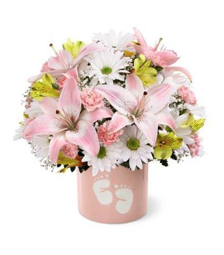 Photo of flowers: Sweet Dreams Bouquet - Girl