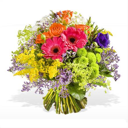 Photo of flowers: Best wishes Wild Cut  Bouquet