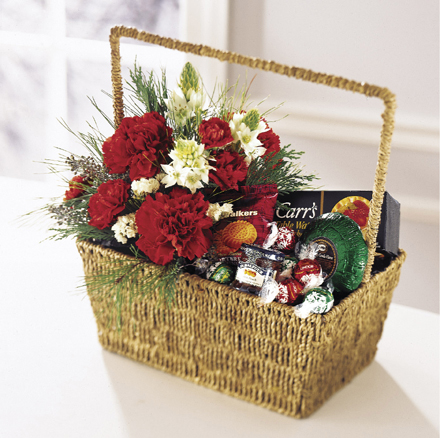 Photo of flowers: Taste of the Season Gourmet Basket