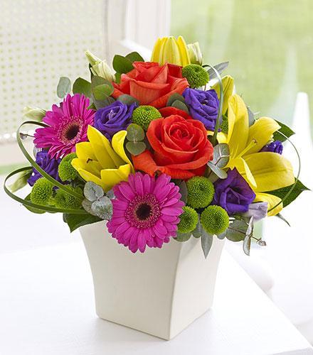 Photo of flowers: Vibrant Exquisite Arrangement