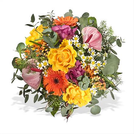 Photo of flowers: Mixed Cut Bouquet Hand Tied