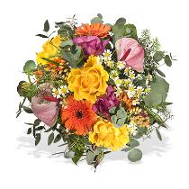 Photo of Mixed Cut Bouquet Hand Tied  - A607