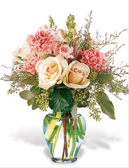 Photo of flowers: Love in Bloom Vase Bouquet
