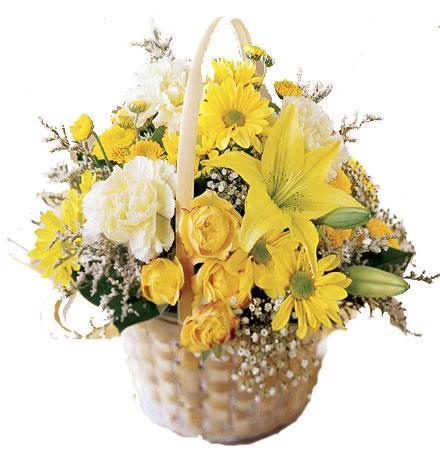Photo of flowers: Flourishing Garden Flower Basket