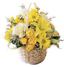Photo of Flourishing Garden Flower Basket - C11-3035
