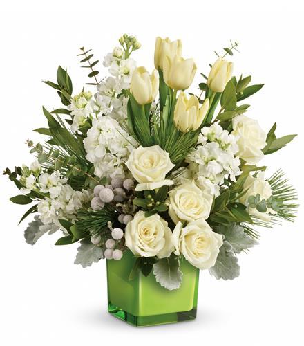 Photo of flowers: Winter Pop Bouquet