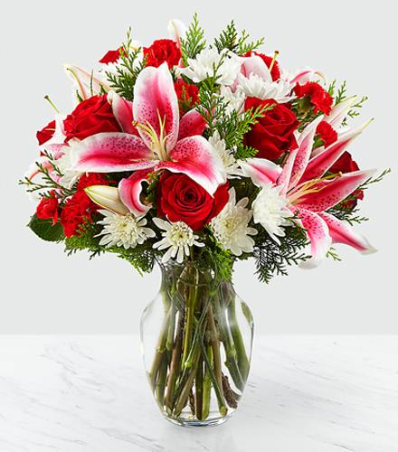 Photo of flowers: Frosted Findings Bouquet