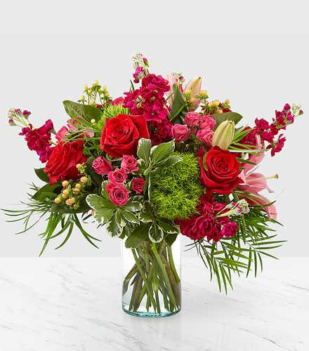 truly stunning bouquet 1 b36   ftd christmas catalog