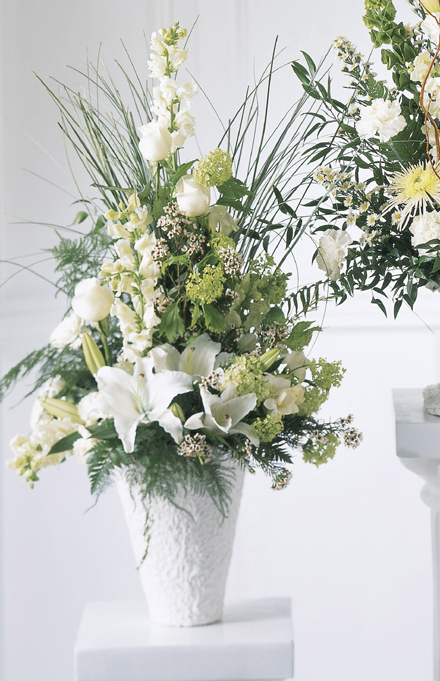 Photo of flowers: Weeping Lilies Arrangement