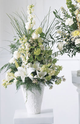 Photo of Weeping Lilies Arrangement - S3-3491