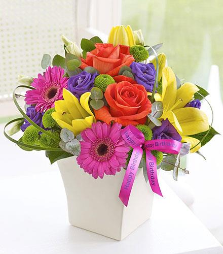 Photo of flowers: Vibrant Exquisite Arrangement