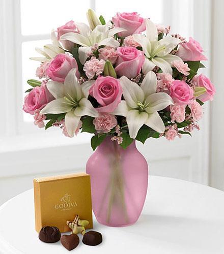 Photo of flowers: Sweet Emotions in Vase