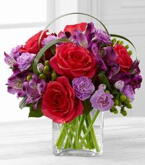 Photo of Be Bold Bouquet in Vase - C15-4949