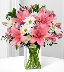 Photo of In the Presence of Pink Mixed Vase - FH02