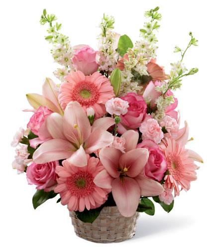 Photo of flowers: Whispering Love Arrangement