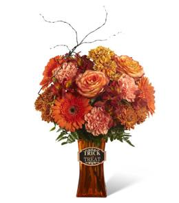 Photo of Boo-Quet in Vase  - 16-H1