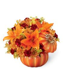 Photo of Bountiful Pumpkin Bouquet  - 16-F2