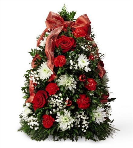 Photo of flowers: Make it Merry Chritsmas Tree 18-C12