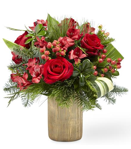 Photo of flowers: Take Me Home Vase Bouquet 18-C14