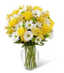 Photo of Sunny Sentiments in Vase - B05