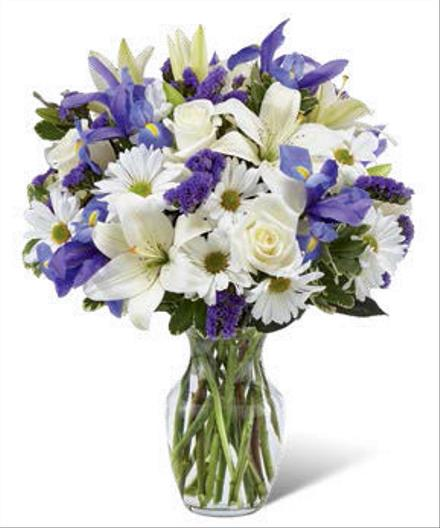 Photo of flowers: Sincere Respect  Vase Bouquet B29