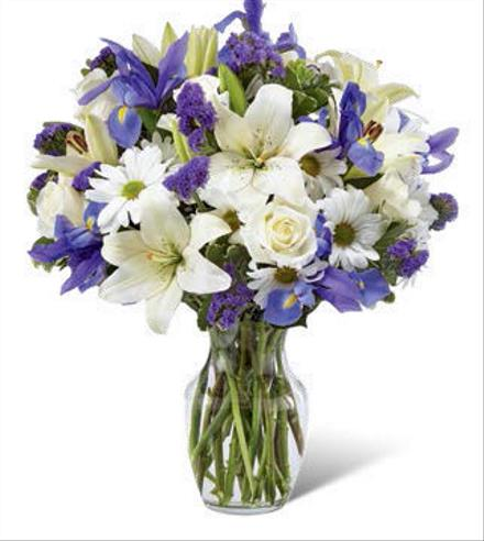 Photo of flowers: Sincere Respect  Vase Bouquet