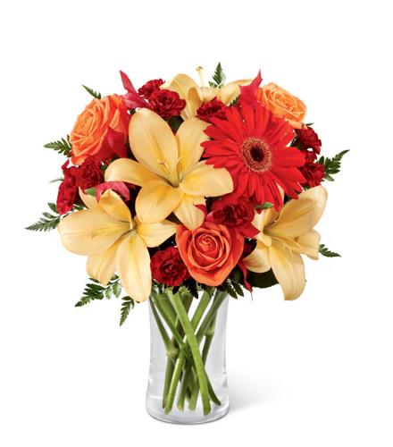 Photo of BF2717/B3-4951 (Approx. 9 Stems - includes vase)